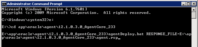 Agent 12c Deploy Windows 12